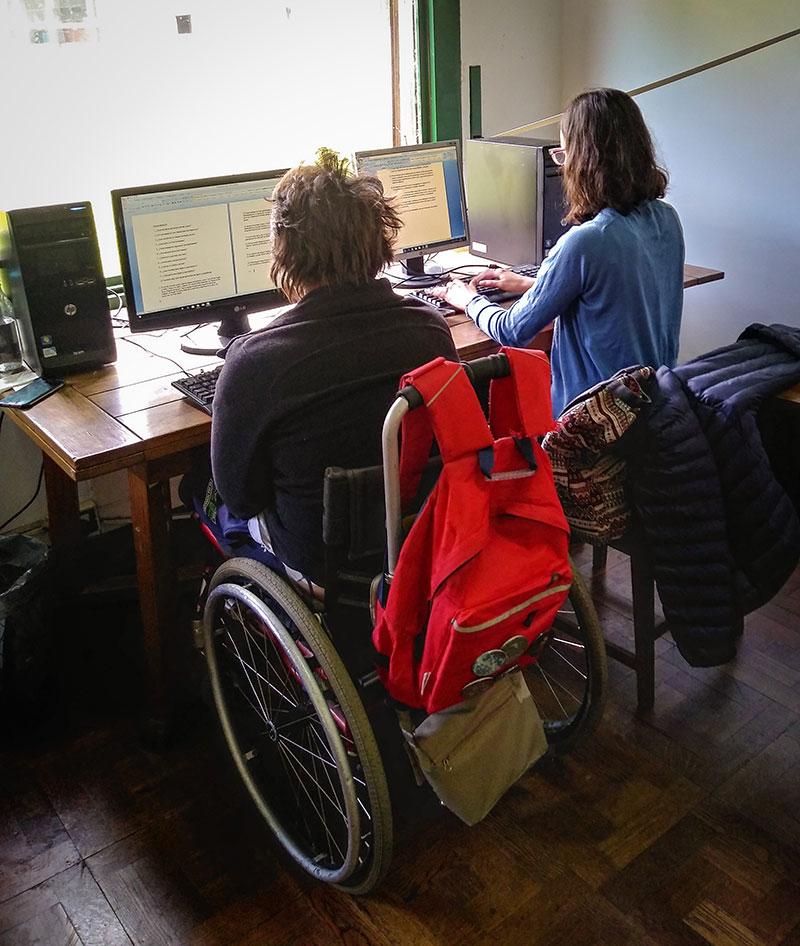 Participación de personas con discapacidad en el Curso de Introducción al Trabajo